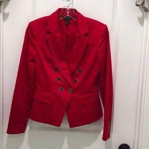White House Black Market red blazer